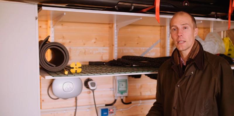 Vi ville inte bara ha fjärrstyrning på motorvärmaruttaget, utan också framtidssäkra anläggningen, berättar Daniel Fahlander.
